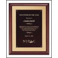 P3554 Cherry Finish Plaque